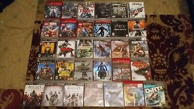 Huge PS3 Game Lot! (31 Titles)