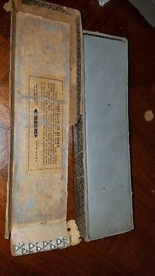 Vintage Norton Crystolon sharpening stone. With original box.