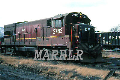 RR Print-Conrail CR 2783 at Corning NY 3/12/1977