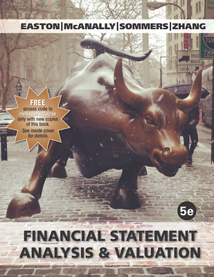 Financial Statement Analysis, and Valuation, 5th edition 2018 (PDF/EB00K)