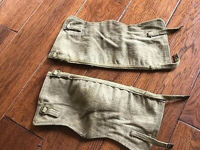 WWII British Army Leggings