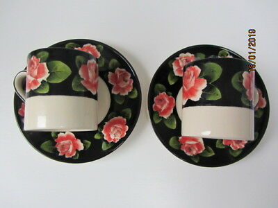 Wemyss Griselda Hill Roses cups and saucers