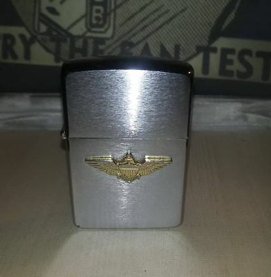 Zippo Wing Army with Gold Amblem, vintage and very rare
