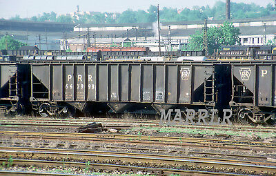 RR Print-Pennsylvania PRR 667998 at Youngstown Oh 6/6/1980