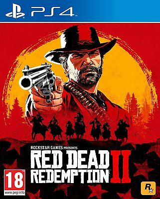 Red Dead Redemption 2 (PS4) UK Pal Edition (PRO HDR) RED DEAD REDEMPTION 2 NEW🔫