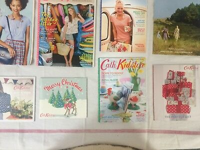 Old X8 Cath Kidston Mailorder Catolauges, Magazines, Books