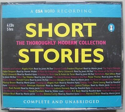 Short Stories: The Thoroughly Modern Collection 4 Cd's Audio Talking Book
