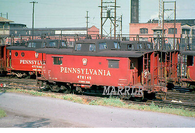 RR Print-Pennsylvania PRR 478145 at Harrisburg Pa 1/3/1966