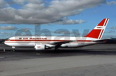 Aviation , Photo , Aircraft , Air-Mauritius 767.200 3B.nal 1989 Tnr