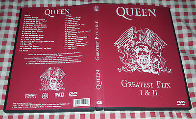 Queen - Greatest Flix 1&2 (2 DVDs) SPECIAL FAN EDITION