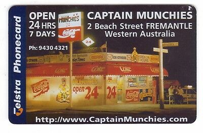 Pristine Mint $2 Captain Munchies Coca Cola Phonecard 970020034 A Issued 140 4/5