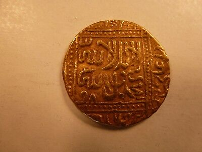 Mughal India Gold Mohur of Akbar the Great