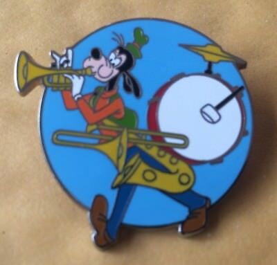 Disney's Goofy - One man band pin
