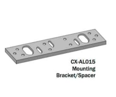 """Camden CX-AL015 Spacer Bar for 1200 lbs Mag Locks 1/4"""" (6.35mm) thick"""
