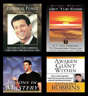 Anthony Robbins Personal Power Get The Edge Lessons in Mastery Awaken The Giant
