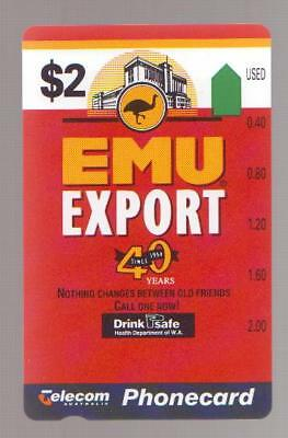 $2 EMU EXPORT PRISTINE MINT COMPLEMENTARY Pre 643 INVESTMENT QUALITY