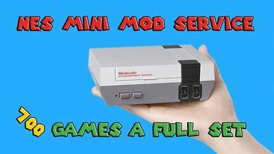 NES Classic Mini Mod Service 686 Awesome Games and Artwork.