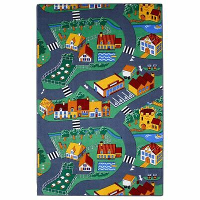 AK Sports Kids Play Mat Floor Gym Children Activity Rug Village Street 0309003