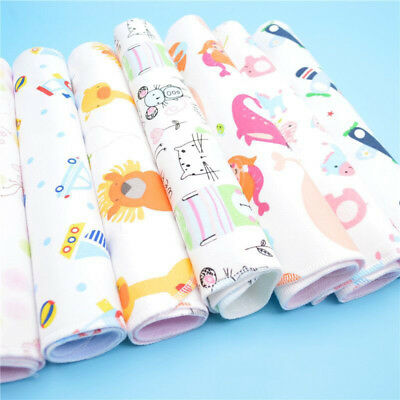 Baby Infant Diaper Nappy Urine Mat Kid Waterproof Bedding Changing Cover Pad ❥ ❥