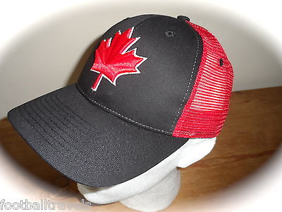 ZEPHYR CANADA Z SNAPBACK CAP Casquette TUQUE Hat Red Maple Leaf NEW TAGS