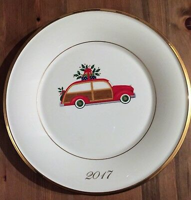 Lenox Holiday Plate 2017