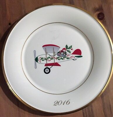 Lenox Holiday Plate 2016