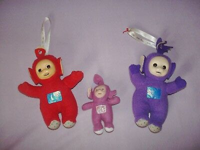 3 Teletubbies