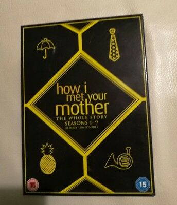 How I Met Your Mother: La Serie Completa DVD Eng Sub Eng + Bro Code & On the Go