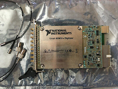 National Instruments NI PXI-5105 8-Channel 60MS/s 16MB Digitizer Scope, unused