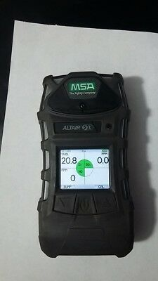 MSA Altair 5X Gas Detector    SO2, O2, NO.