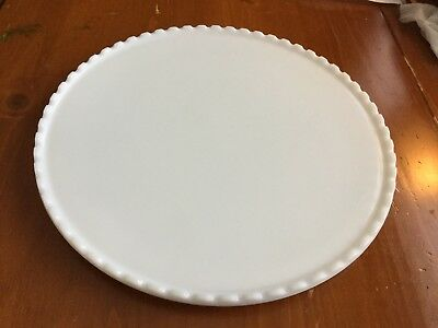 Vintage Ritter Milk Glass Medical Instrument Tray 14 Inches Wide