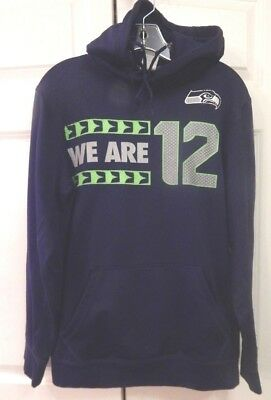 6fa40a5df72d Men s Women s Unisex Nike NFL SEATTLE SEAHAWKS Hoodie Pullover Size Small