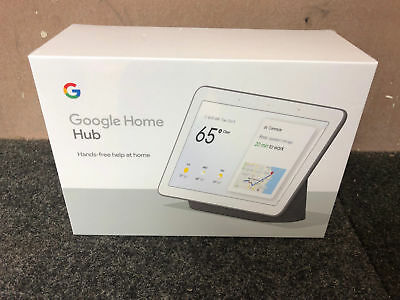 Google Home Hub with Google Assistant - Charcoal