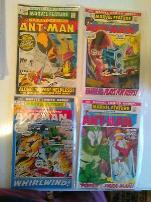 Marvel Feature 1972 volume 1, issues 4-10, fine to very fine