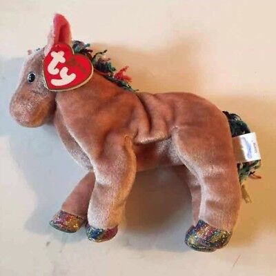 Mint Ty Beanie Baby Babies Zodiac Horse MWMT Chinese Astrology Retired New  2000 38457c0287c3