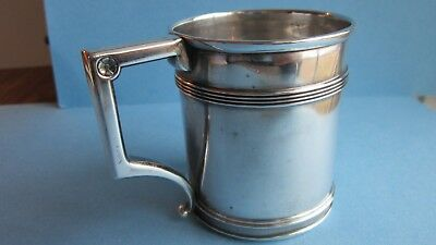 Antique Gorham Sterling Silver Child's Christening Cup from the 1940s #1501