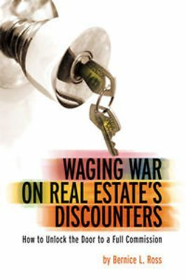 Waging War on Real Estate's Discounters Audiobook CD Bernice L. Ross 2005 New