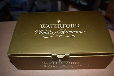 Waterford Crystal Holiday Heirlooms Ornament Display Stand New In Box