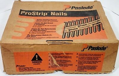 """Paslode 2-3/8"""" X .113 20-Degree R-Head Prostrip Nails 2500CT 650113"""