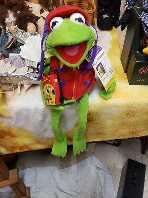 Kermit The Frog Frogtographer Macy's  Exclusive Plush
