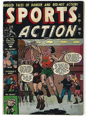 Sports Action #11- Sol Brodsky cover and art - Jay Scott Pike art - TGL