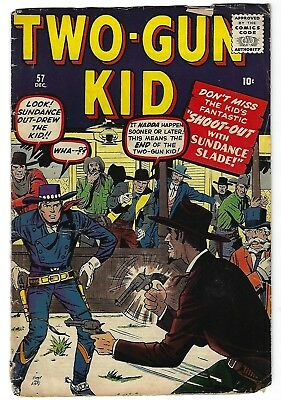 Two-Gun Kid #57 - Jack Kirby cover and art -John Severin art - TGL