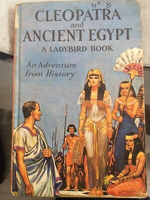 Vintage Ladybird Book - Cleopatra and Ancient Egypt - Series 561