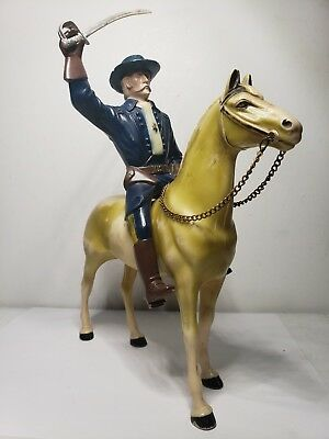 Vintage Heartland Horses 1950s  General Custer With Horse And Blue Hat And ...