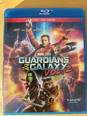 NEW Marvel Guardians of the Galaxy 2 Blu-ray & DVD NO DIGITAL BLUERAY Disc movie