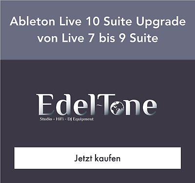 Ableton Live 10 Suite - UPG from Live 7-9 Suite - ESD