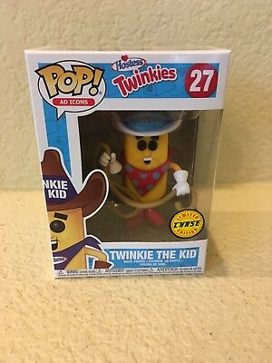 Funko Pop! Ad Icons Hostess Twinkies TWINKIE THE KID Chase #27 Limited Edition