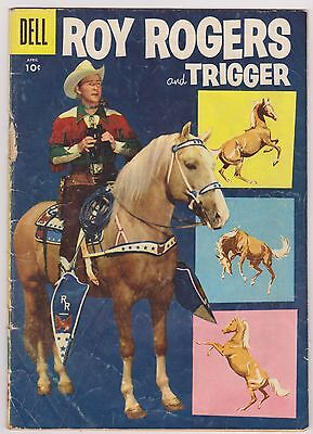 Roy Rogers and Trigger #100, Very Good Condition!