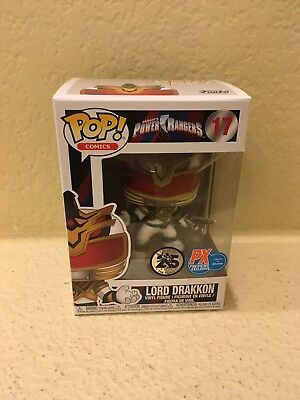 Funko Pop! Comics Power Rangers Lord Drakkon Exclusive In Hand New