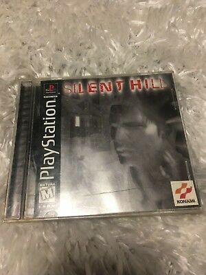 Silent Hill  (PlayStation, 1999) PS1 Tested and Works! Black label